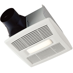 Broan AE50110DCL Flex DC™ Series Bathroom Fan with LED Light
