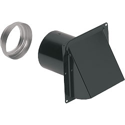 Broan 885BL Wall Cap - Black