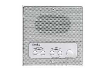 Linear MSDM4RS DMC4RS: Retrofit Indoor Room Station with Remote Scan and Master Volume (White)