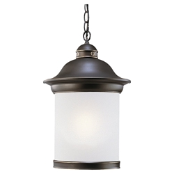 Sea Gull Lighting 69191BLE-71 Outdoor Pendant Light