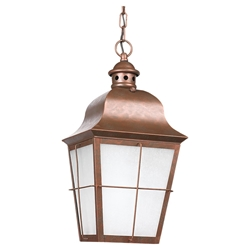 Sea Gull Lighting 69272BLE-44 Outdoor Pendant Light