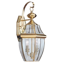 Sea Gull Lighting 8039-02 Outdoor Wall Lantern