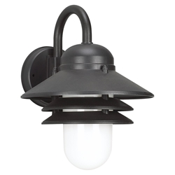 Sea Gull Lighting 83055BLE-12 Outdoor Wall Lantern