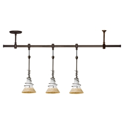 Sea Gull Lighting 94512-71 Three Light Pendant Rail Kit