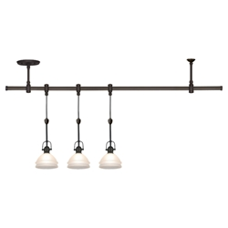 Sea Gull Lighting 94514-71 Three Light Pendant Rail Kit