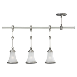 Sea Gull Lighting 94518-965 Three Light Pendant Rail Kit