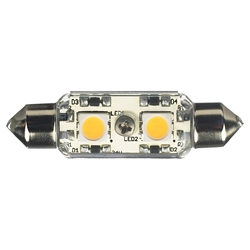Sea Gull Lighting 96119S-33 12V LED Frosted Festoon Lamp