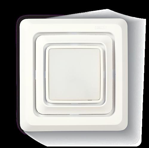 Broan FG600S Bathroom Exhaust Fan Grille/Cover w/ LED Light
