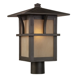 Sea Gull Lighting 82880BL-51 Outdoor Post Lantern