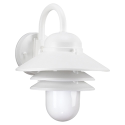 Sea Gull Lighting 83055BLE-15 Outdoor Wall Lantern
